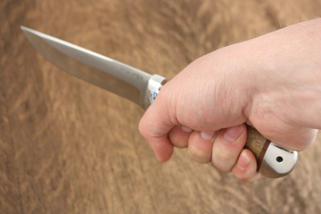 Нож Лиса. Рукоять