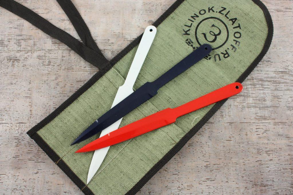 Цельнометаллические метательные ножи