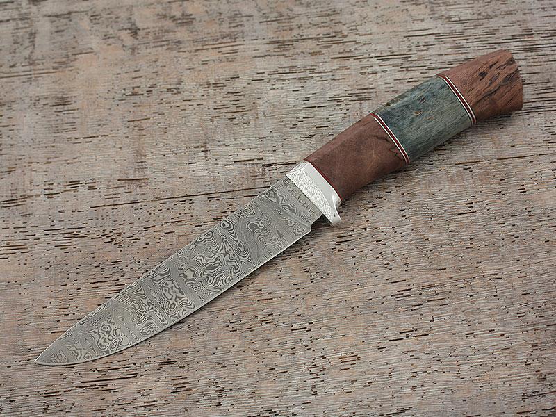 Ножи Лапшина. Белый дамаск