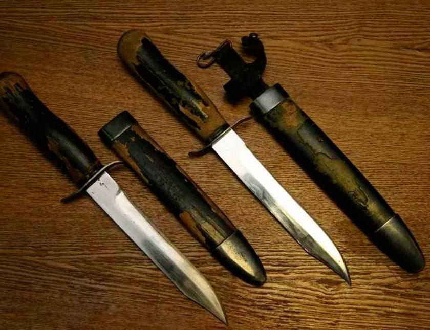 Черные ножи НР-40 времен СССР