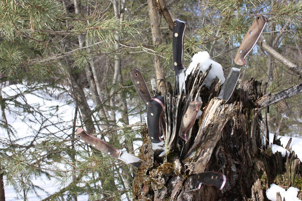 Цельнометаллические ножи: Фултанги повышенной прочности