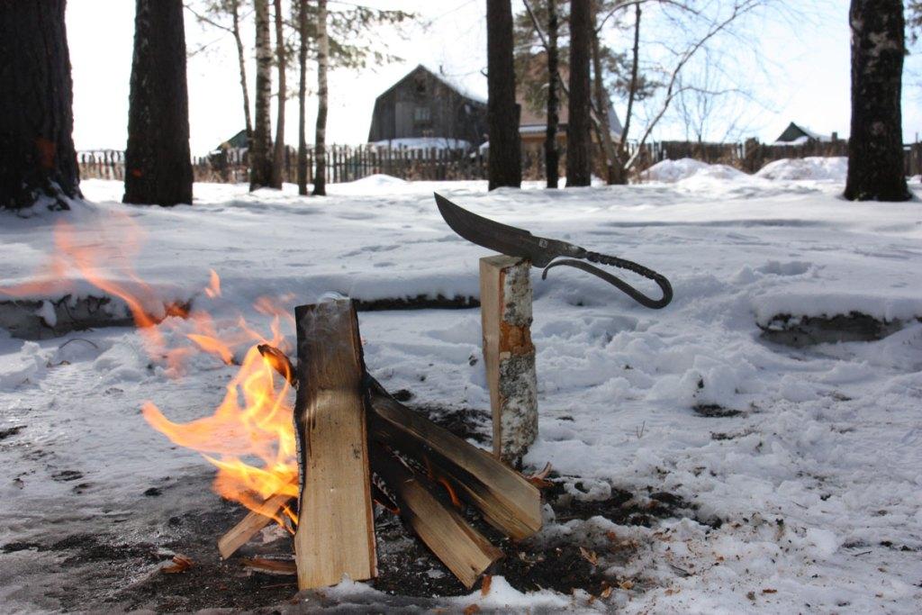 Куябрик: скелетный нож деревенского типа