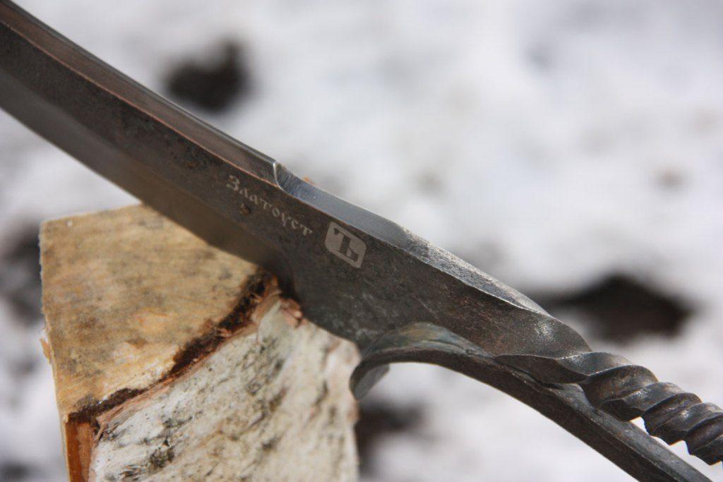 Деревенский нож - брутальный куябрик
