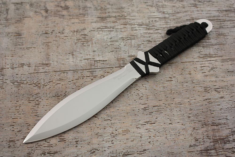 Метательный нож «Удар». Чертеж и фото