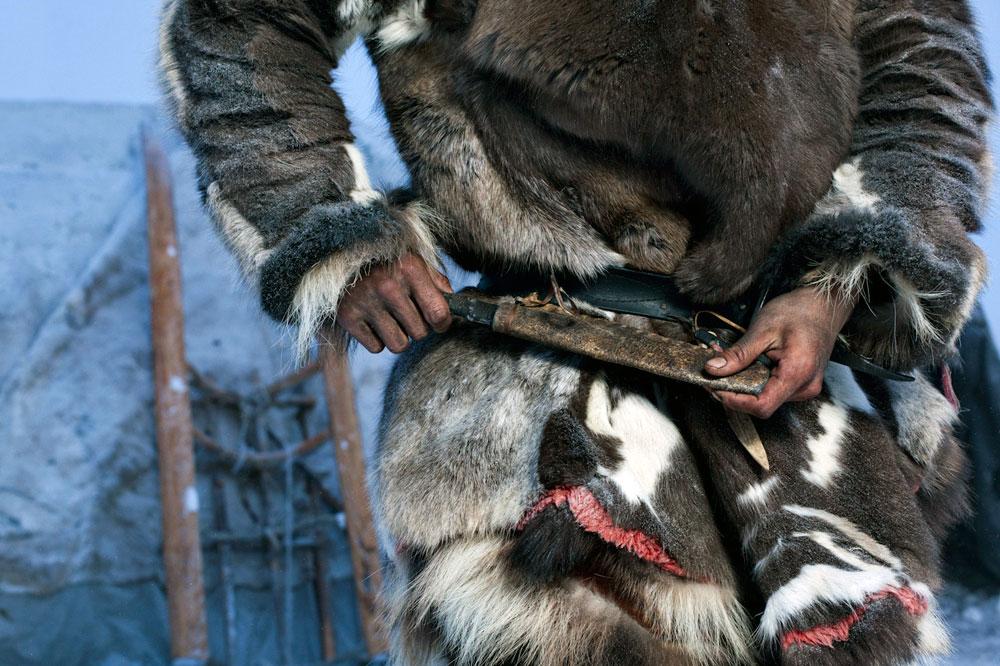 якутские ножи ножны