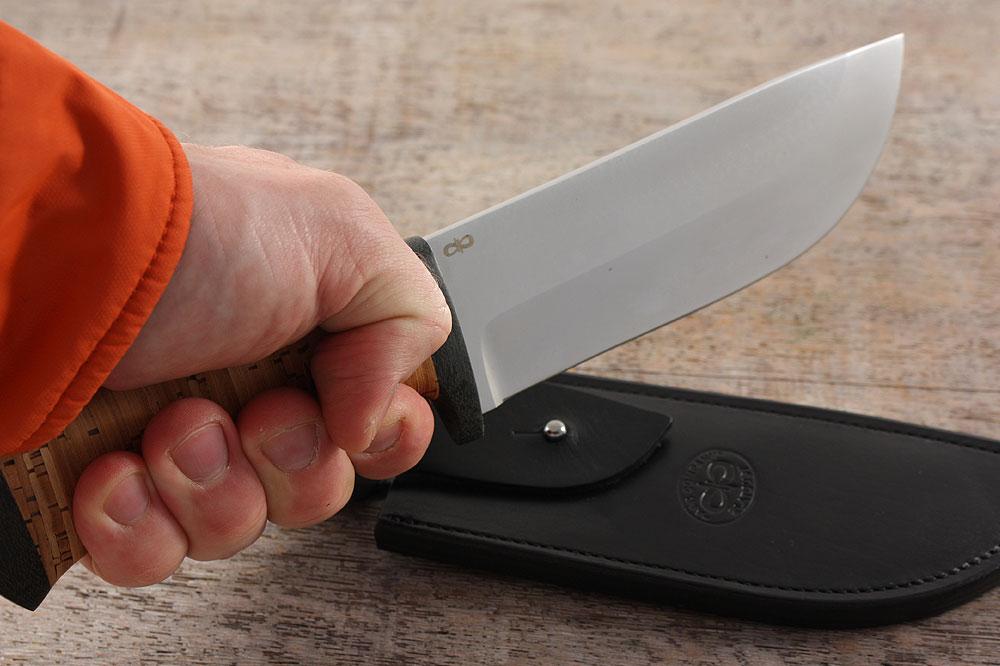 Нож «Толстяк» - различные материалы рукоятей