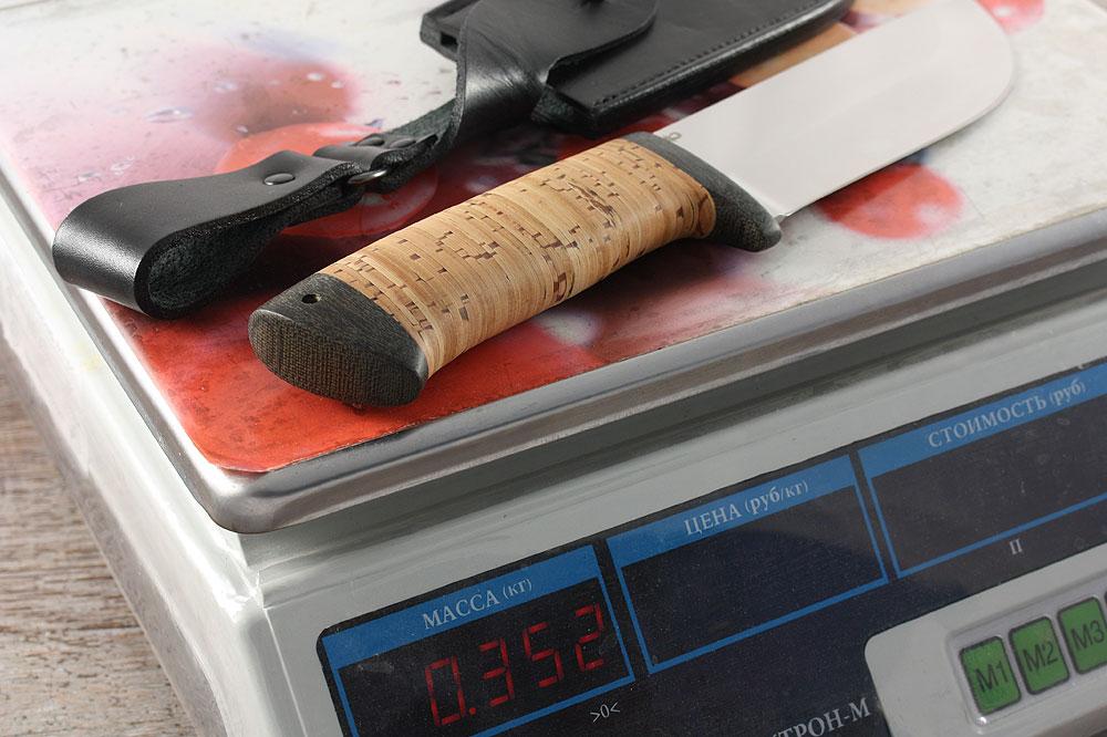 Нож «Толстяк» - вес ножа с ножнами