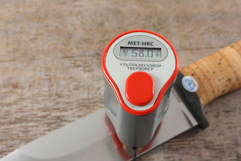 Нож «Толстяк» - твердость стали 95Х18