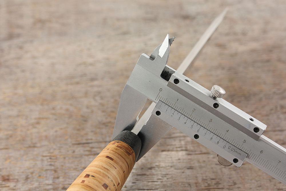Нож «Толстяк» - толщина обуха клинка