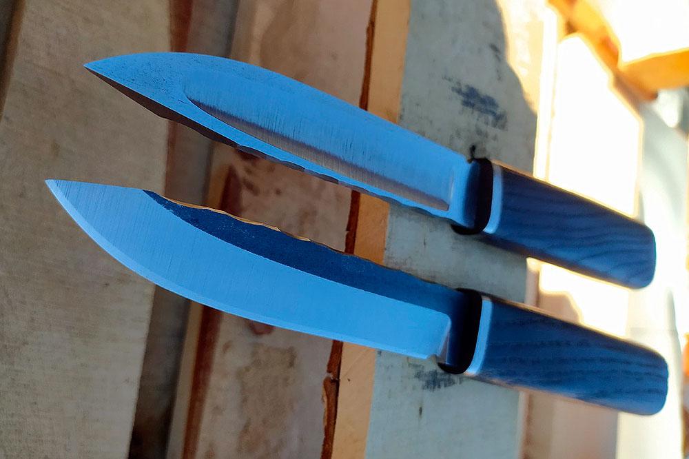 «Техно-Якуты» или брутальные Якутские ножи